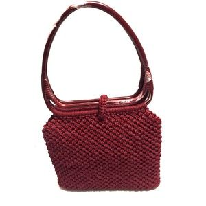 Bags - Crocheted Purse with Horseshoe Handle